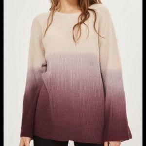 Topshop Ombré Sweater